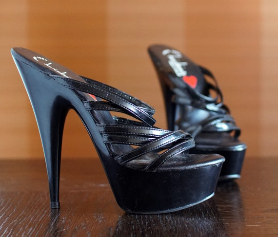 cult LUICHINY high platform heels Gothic Lolita po