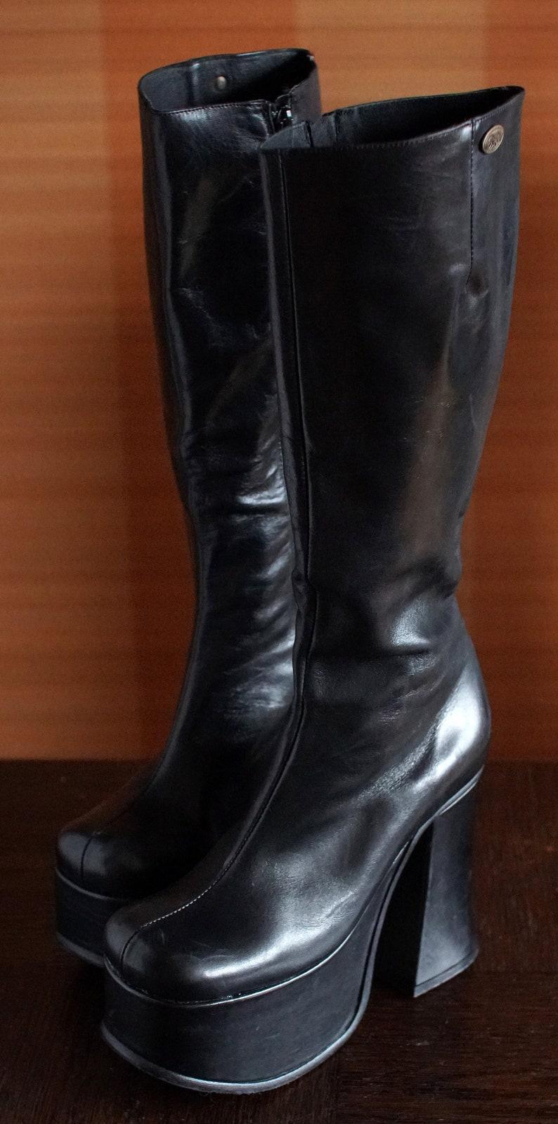 0291fb6cfaa5 BUFFALO T 24400 II platform boots 90 s Club Kid Gothic