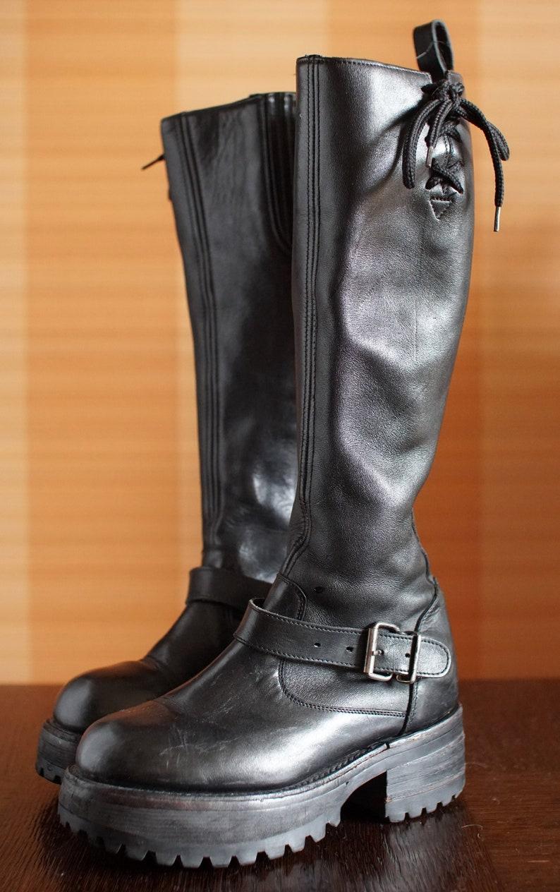 c23eeed2f347 Unique BUFFALO platform boots 90 s Club Kid Grunge 90s