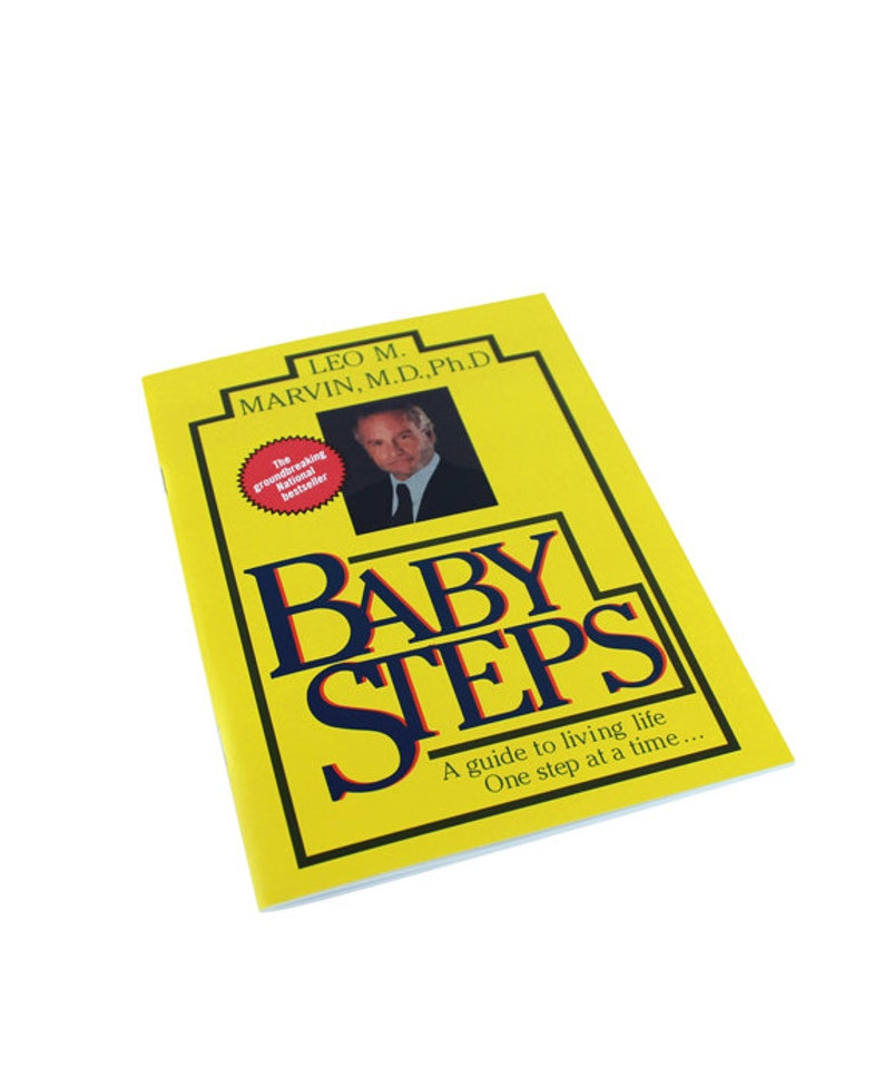 Baby Steps Notebookwhat About Bob Inspired Bill Murray Etsy