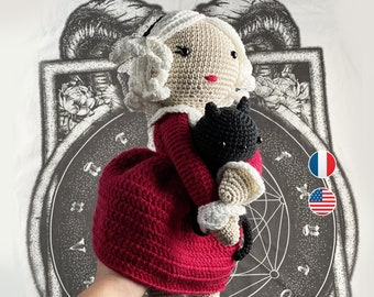 Amigurumi - Crochet Pattern, Sabrina and Salem, Instructions, Toddler english terms us