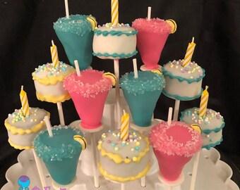 Cake Cocktails 21st Birthday Pops Margarita