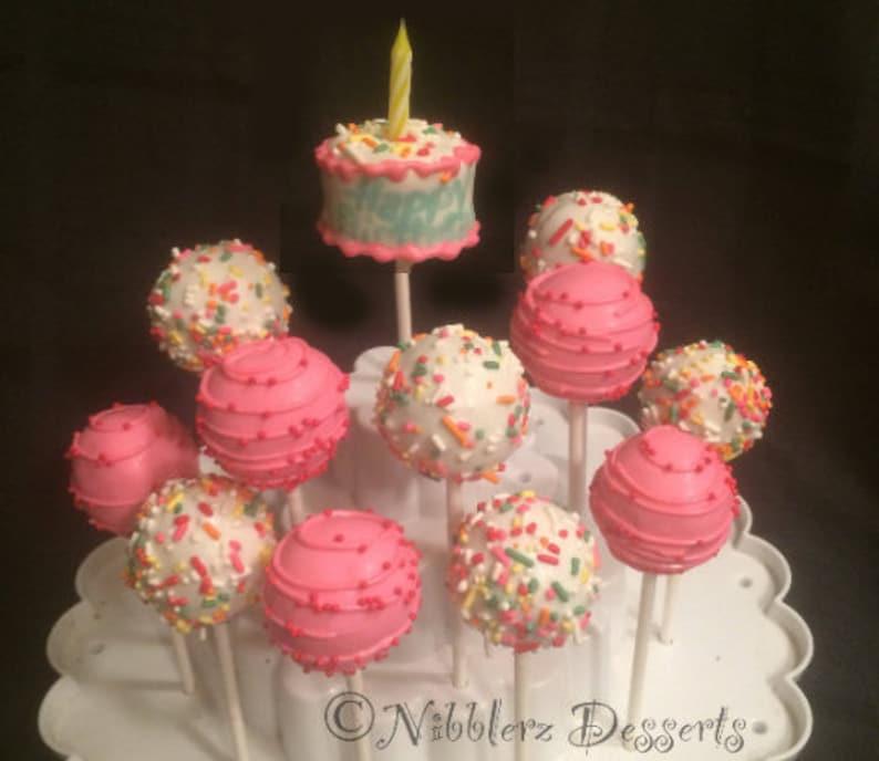Birthday Dozen With Mini Cake Pop Gift Box