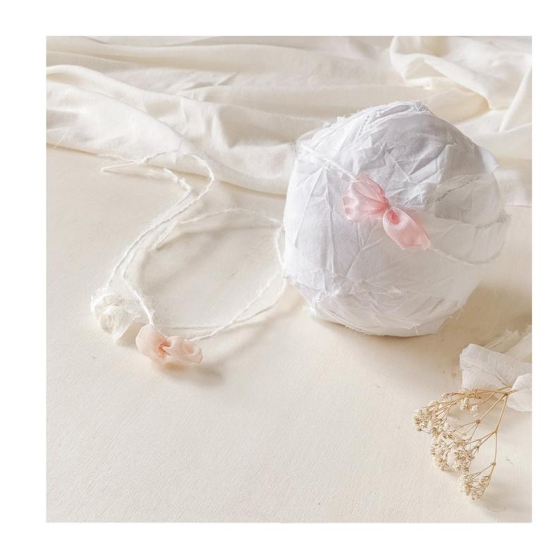 Newborn Props Bundle Bows Baby Headband Three Baby Girl  Headbands Baby Girl Gift Tie Back Headbands
