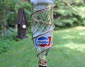 "Vintage 1970s Pepsi Bottle Bird Feeder ~ ""The Soda Fountain"""