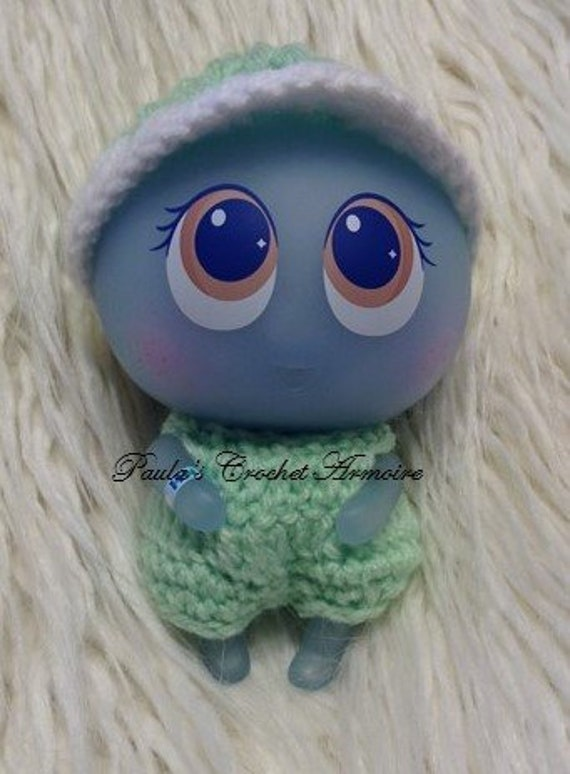 Distroller Ksimerito Turquoise Dress w// Beanie Nerlie Neonate Baby Doll Accesories