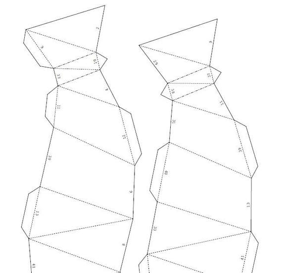 photo about Vase Template Printable referred to as Printable Do it yourself template (PDF). Vase very low poly paper style. 3D paper vase. Origami.