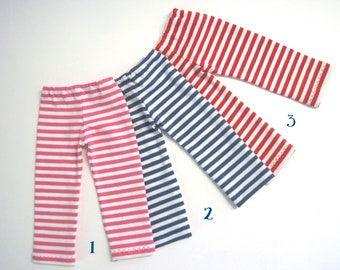 HANNAH Ringel Leggings - in 3 colors to choose from - dolls pants clothes