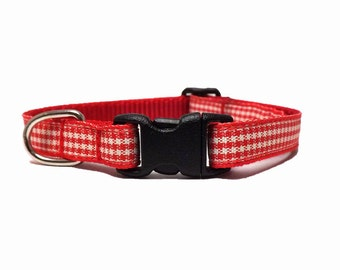 The Gingham | Cat Collar with Bell