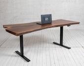 Live Edge Sit Stand Desks (Electric)