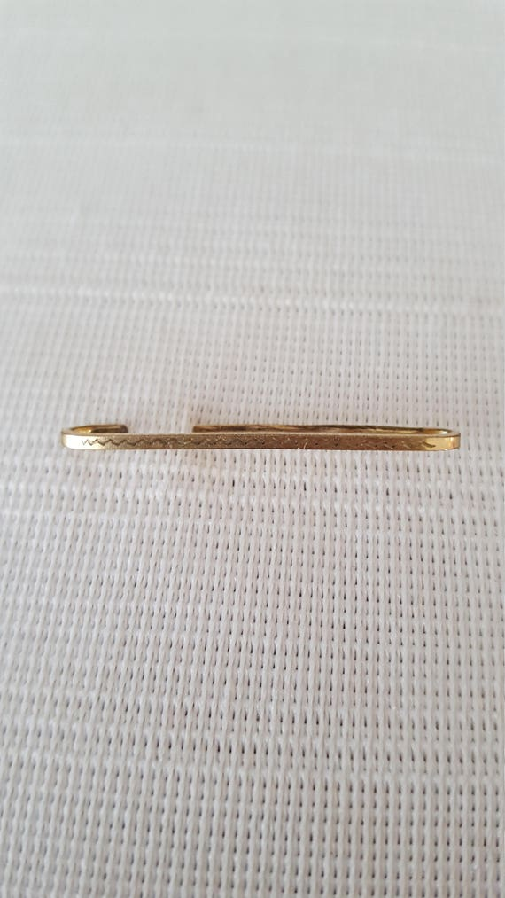 Fine Gold Jewelry - Gold Brooch - Lingerie Pin - E