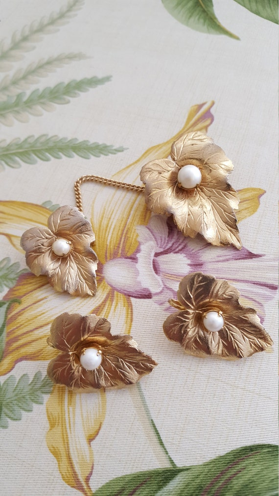 Sarah Coventry Jewelry Set - Sarah Coventry Jewel… - image 2