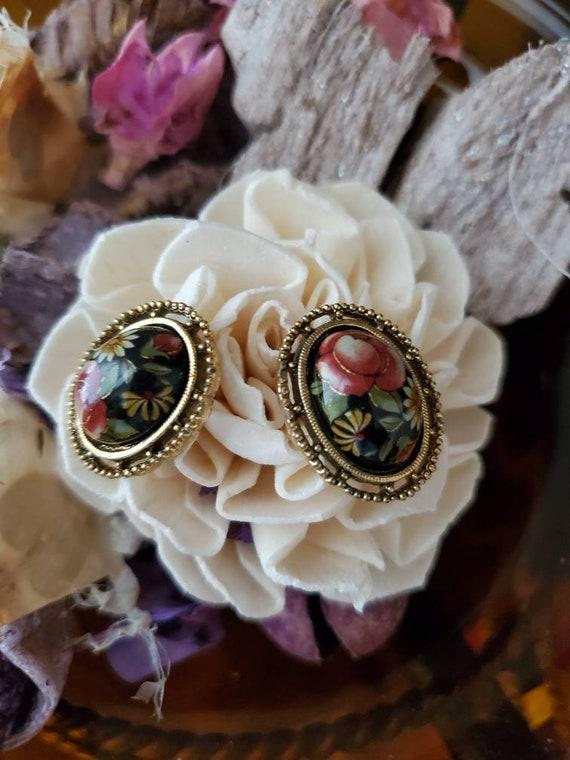 Faux Pink Gem Earrings Vintage 1928 Brand Chandelier Earrings Vintage Style Jewelry Vintage Style Earrings Art Deco Style Earrings