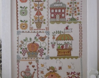 Chart AUTUMN in QUILT - Hardcopy or PDF format