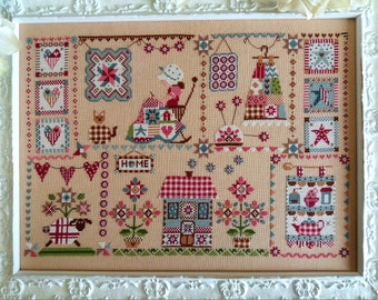 Chart Quilting in Quilt - Paper format or PDF on demand