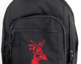 8c126f9457 FREE SHIPPING - Personalized Bullrider Bull Riding Monogrammed Backpack  Book Bag school tote - NEW