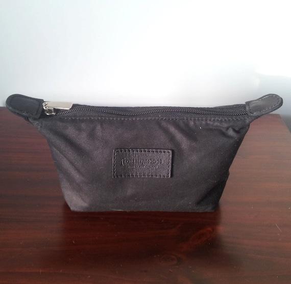 Mens Toiletry Bag - Dopp Kit in Brown Oilskin