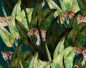 orecchie Leopardo Strass Accessorio per travestimenti-Cerchietto Gatto Animale Giungla