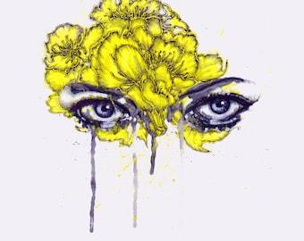 chrysanthemum eyes
