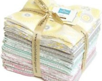 Willow fat quarter bundle FREE SHIPPING by My Minds Eye for Riley Blake