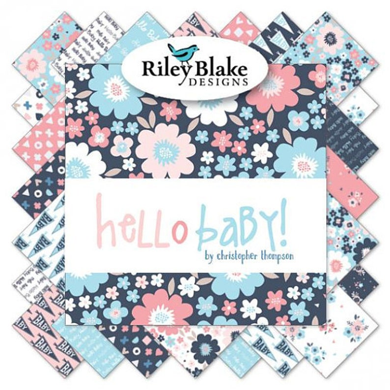 Hello Baby by Christopher Thompson Rolie Polie for Riley Blake Designs