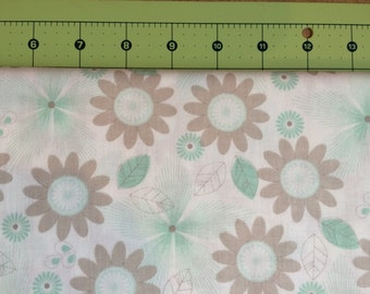 Willow by Riley Blake Floral Green
