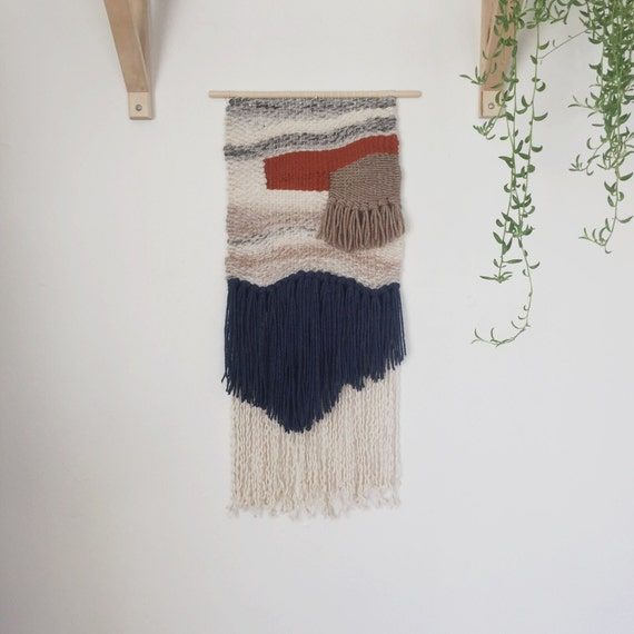 buckley / hand woven wall hanging