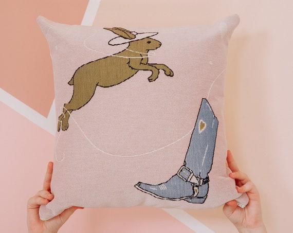 Moon Shine Woven Pillow
