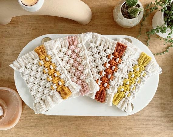 Macrame Coasters