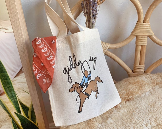 Giddy Up Baby Tote