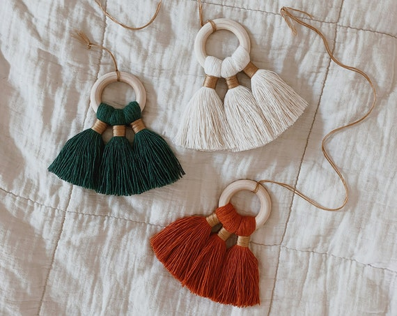 holiday tassel charms