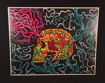 Life Source - by Cryptic Crayon - 11x14 limited 2016 print!