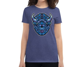 BuffaSnow - Women's short sleeve t-shirt