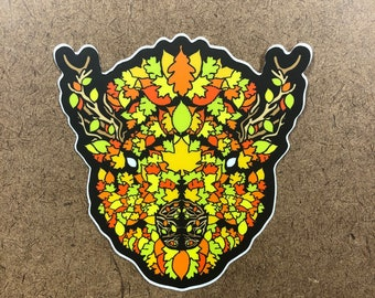 Elite - Buffalo Themed Die Cut Sticker