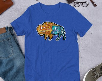 Glass Buffalo Too - Short-Sleeve Unisex T-Shirt