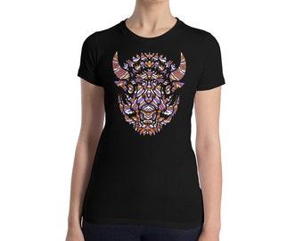 Land - Women's Slim Fit T-Shirt
