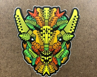 Harmony - Buffalo Themed Die Cut Sticker