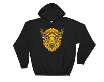Falling - Hooded Sweatshirt