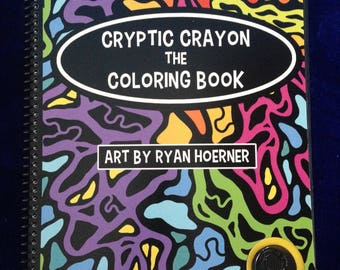 Cryptic Crayon the Coloring Book