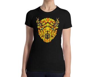Falling - Women's Slim Fit T-Shirt