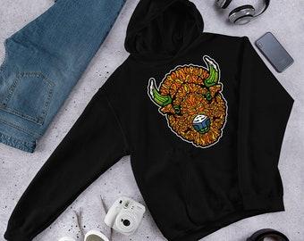 Winged - Hooded Sweatshirt