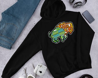 Glass Buffalo - Hooded Sweatshirt