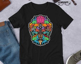 Evolution - Short-Sleeve Unisex T-Shirt