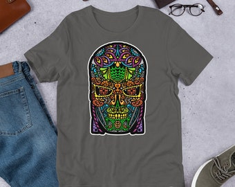 Sugar Skullminator - Short-Sleeve Unisex T-Shirt