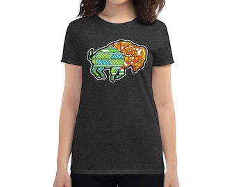 Glass Buffalo - Women's short sleeve t-shirt