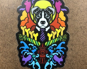 Dogma (pitbull) - Die Cut Sticker