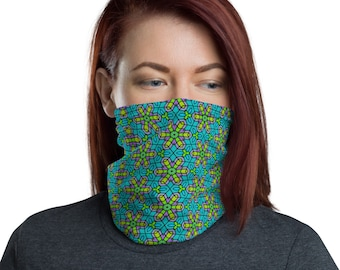 Crystal Flowers - Neck Gaiter