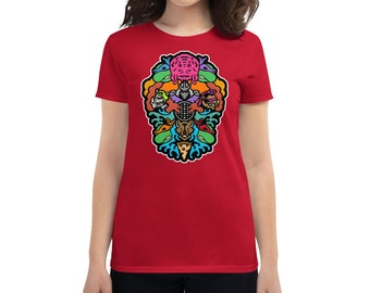 Evolution - Women's short sleeve t-shirt