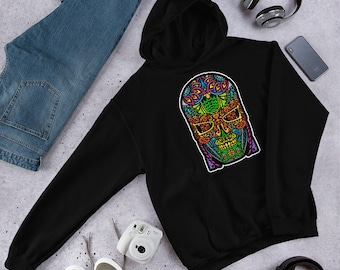 Sugar Skullminator - Hooded Sweatshirt