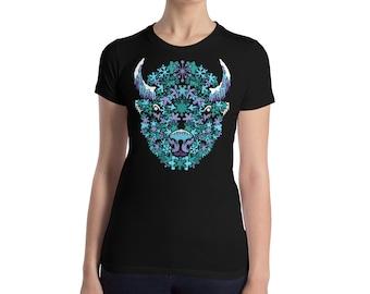 BuffaSnow - Women's Slim Fit T-Shirt